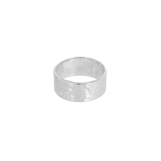 Jupiter Hammered Narrow Ring-artists-and-brands-The Vault