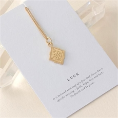 Luck Necklace Gold Plate-jewellery-The Vault