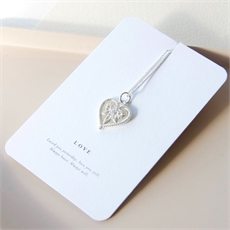Love Necklace Silver-jewellery-The Vault