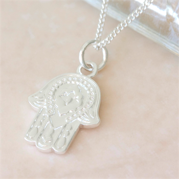 Protection Necklace Silver