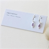 Silver Healing Earrings Amethyst-new-The Vault