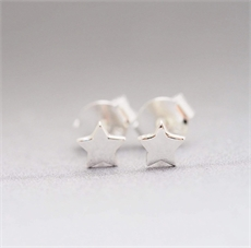 Star Studs Silver-new-The Vault