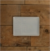 Kauri Platter Small Matt Half Grey-new-The Vault
