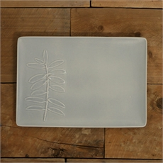 Kauri Platter Medium Matt Half Grey-new-The Vault