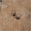 Acorn Earrings Rose Vermeil -jewellery-The Vault