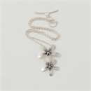 Blossom Necklace Silver