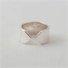 Arrow Ring Narrow Silver-jewellery-The Vault