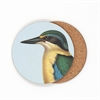 Coaster Single Kingfisher Blue -home-The Vault