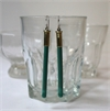 Sure Shot Earrings Green-jewellery-The Vault