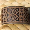 Laser Veneer Cuff Tribal Black-jewellery-The Vault