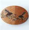 Oval Wall Art Fantail-home-The Vault