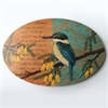 Oval Wall Art Kingfisher-home-The Vault