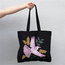 Arohanui Black Tote Bag-for-her-The Vault