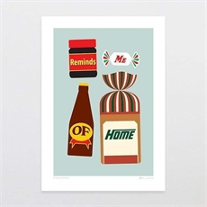 A Taste of Kiwi A3 Print-artists-and-brands-The Vault