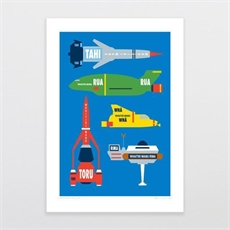 Artearoa Rescue A4 Print-home-The Vault