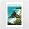 Piha A3 Print-home-The Vault