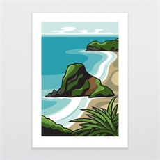 Piha A3 Print-shop-all-The Vault