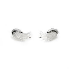 MOP Wing Climbers Silver-jewellery-The Vault