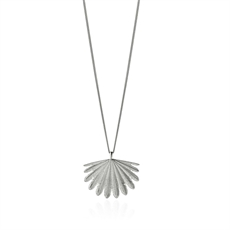 Fan Tail Pendant Silver-jewellery-The Vault