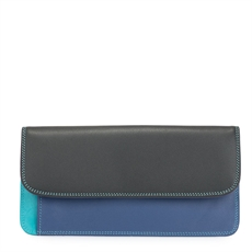 Simple Flapover Wallet Purse Black Pace-for-her-The Vault
