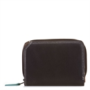 Small Wallet w Zip Purse Mocha
