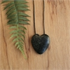 Ernesto Ovalle Large Pounamu Heart-jewellery-The Vault
