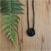 Ernesto Ovalle Small Pounamu Koru Pendant-jewellery-The Vault