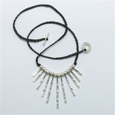 Ra Necklace Silver-jewellery-The Vault