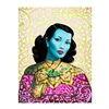 Blue Lady A3 Print-home-The Vault