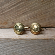 Antique Military Button Cufflinks-for-him-The Vault