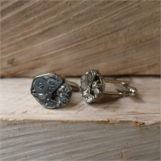 Steampunk Cufflinks Stainless Steel-for-him-The Vault