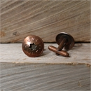 Vintage Copper Milk Token Cufflinks