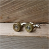 Bullet Head Cufflinks Mixed Metal-for-him-The Vault