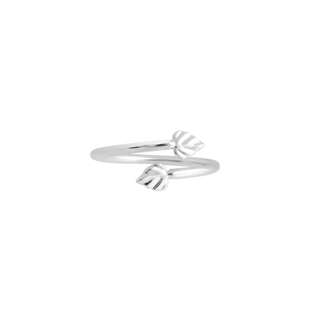 Heart Space Ring Silver