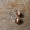 One Cent Earrings Silver Hooks-jewellery-The Vault
