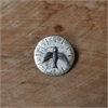 Small Watchface Brooch Silver Bluebird-jewellery-The Vault