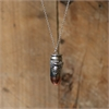 Copperhead Pendant Large Silver Bee -jewellery-The Vault