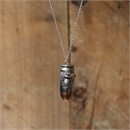 Copperhead Pendant Large Silver Bee