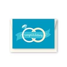 Congratulations Rings Card-cards-The Vault