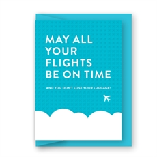 May All Your Flights Be On Time Card-cards-The Vault