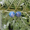 Alum Ponga Fern Studs Azure-jewellery-The Vault