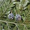 Alum Aotearoa Spiral Blue Earrings -jewellery-The Vault