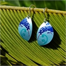 Alum Kiwi Kawa Hook Earrings Bayou