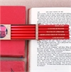Book Lover's Pencil Pack of 5 Boxed-view-all-home-wares-The Vault