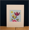 Matted Print Pretty Piwakawaka-home-The Vault