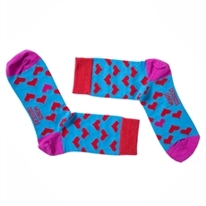 God Socks Paris Red-for-her-The Vault