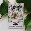 Manuka Flower Enamel Pin-jewellery-The Vault