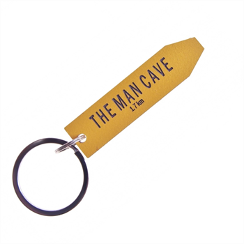 Give Me a Sign Keyring The Man Cave