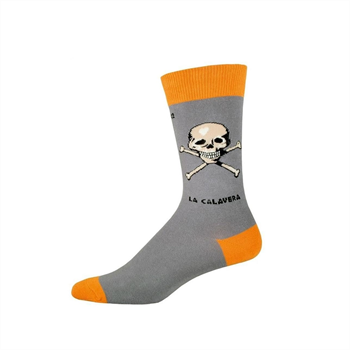 Men's Crew La Calavera Grey