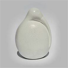 White Marble Sculpture Kiwi-home-The Vault